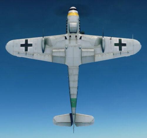Bf109K4 bottom