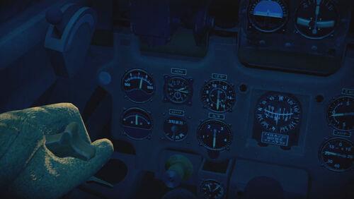 A6M2N cokpit left