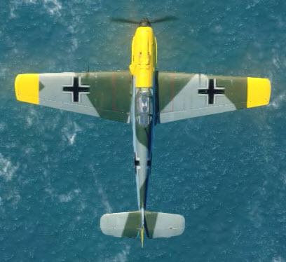 Bf109E3 top