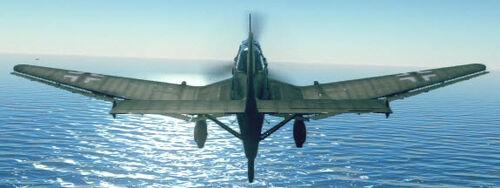 Ju87B2 back