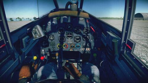 Ju87D3 cokpit default