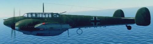 Bf110C4 left