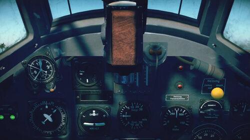 Bf110C4 cokpit top