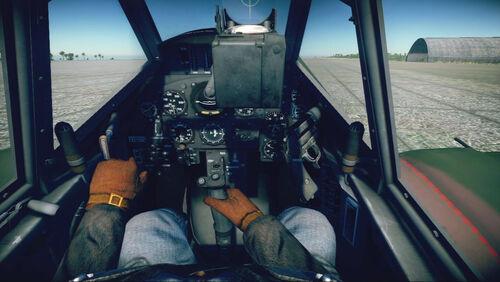 Bf109K4 cokpit default