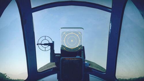 Ki43II cokpit sight