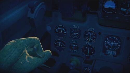 A6M5 cokpit left