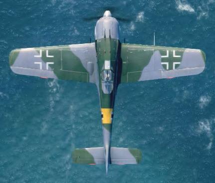 Fw190A5 top