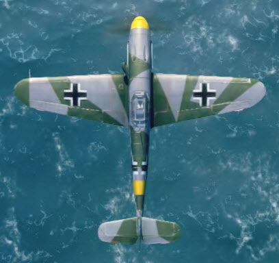 Bf109F4 top