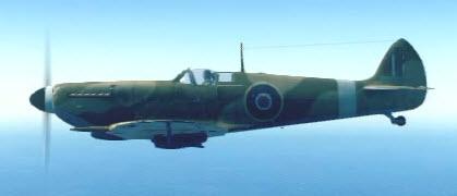 SpitfireMkIX left