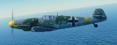 Bf109G6 left