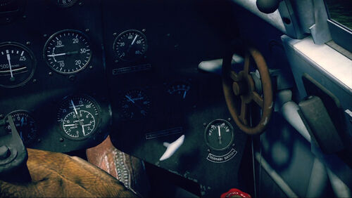 Yak3 cokpit right