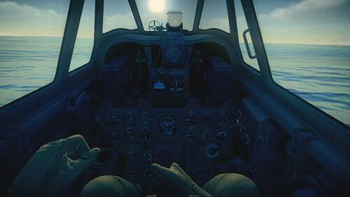 A6M2N cokpit default