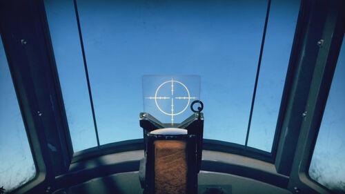Bf110C4 cokpit sight
