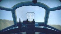 Yak7B cokpit sight