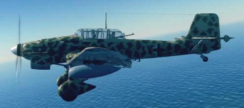 Ju87D left