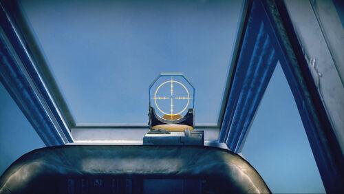 Fw190F8 cokpit sight