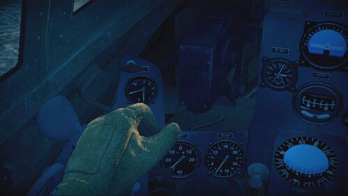 D3A1 cokpit left