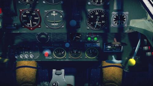 Bf109E3 cokpit up