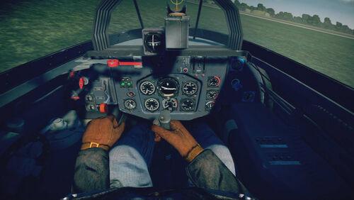 Me163B cokpit default