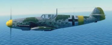 Bf109F4 left