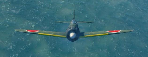 A6M5 front