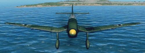Ju87D3 front