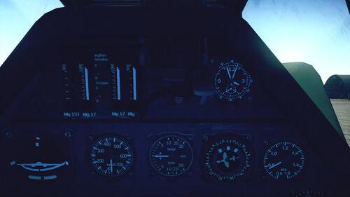 Fw190A5 cokpit top