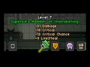 Superkill's Hammer of Unawakening
