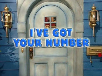 3x10 - I've Got Your Number Title Card