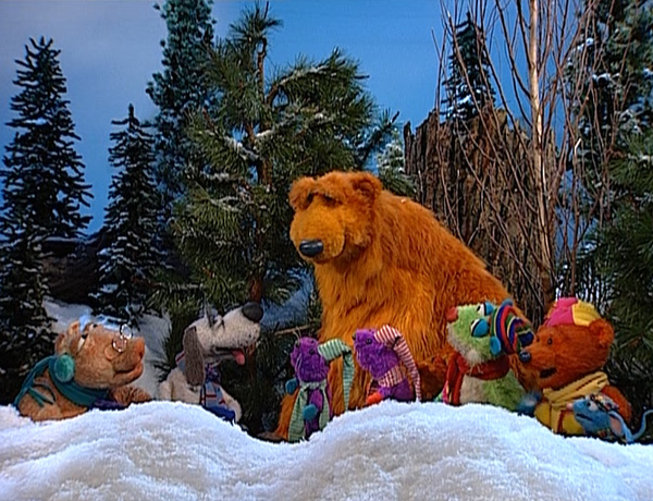a berry bear christmas bear in the big blue house wikia. Black Bedroom Furniture Sets. Home Design Ideas