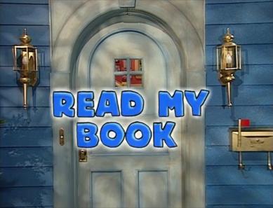 3x05 - Read My Book Title Card