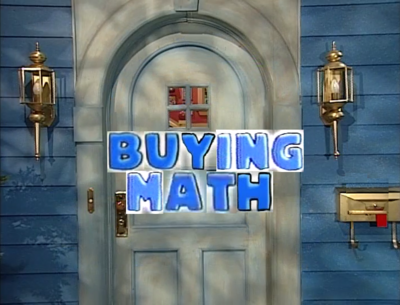 3x12 - Buying Math Title Card