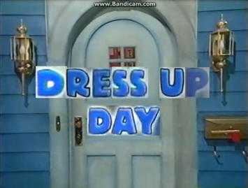 2x09 - Dress Up Day Title Card