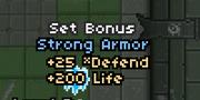 Blue set bonus
