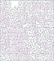 Maze route