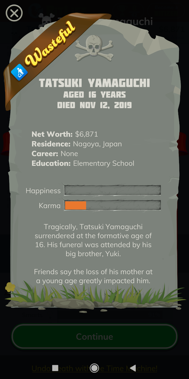 Death   BitLife - Life Simulator Wiki   FANDOM powered by Wikia