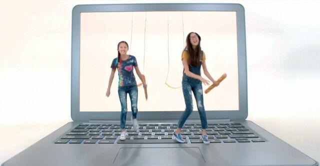 File:Paige & Frankie; From Swings to Laptop.jpg