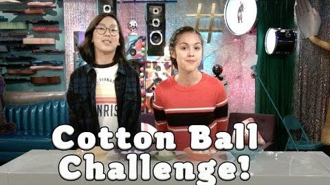 Cotton Ball Challenge Bizaardvark Disney Channel
