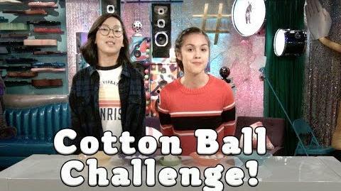 Cotton Ball Challenge Bizaardvark Disney Channel