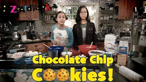Chocolate Chip Cookie Challenge 🍪 Bizaardvark Disney Channel