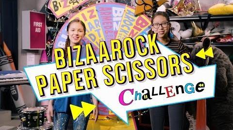 BizaRock Paper Scissors Challenge Bizaardvark Disney Channel