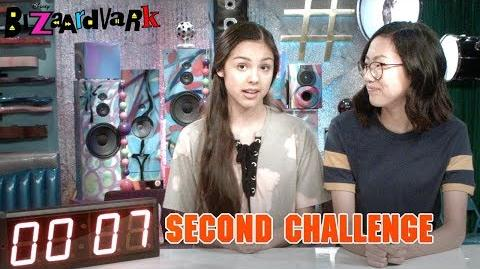 Seven Second Challenge Bizaardvark Disney Channel-0