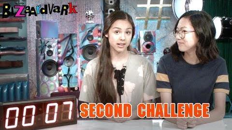 Seven Second Challenge Bizaardvark Disney Channel-0