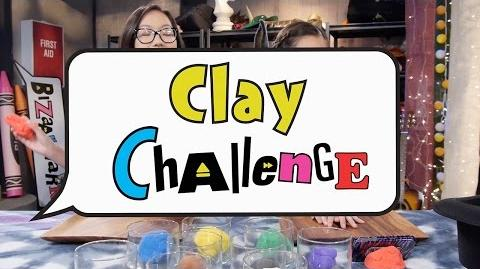 Clay Challenge Bizaardvark Disney Channel