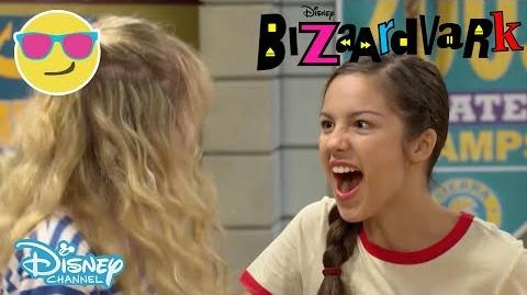 Bizaardvark Paige and Amelia's Volleyball Song Official Disney Channel UK-0
