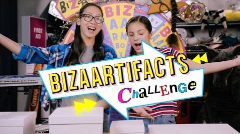 BizaArtifacts Bizaardvark Challenge Disney Channel