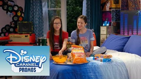 Bizaardvark Best Friend Tag Sleepover Checklist CLIP