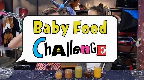 Baby Food Challenge Bizaardvark Disney Channel-0