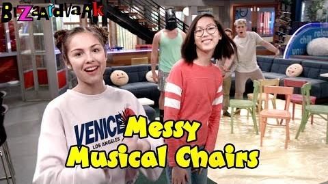Messy Musical Chairs Challenge Bizaardvark Disney Channel