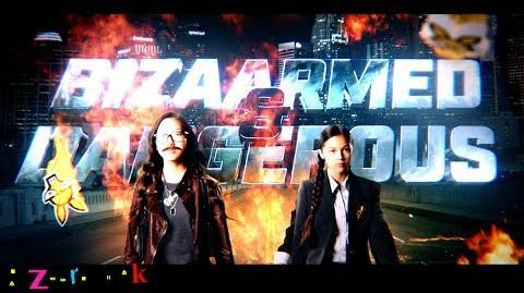 BizaArmed and Dangerous Movie Trailer Bizaardvark Disney Channel